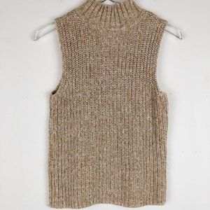 Talbots Cowl Neck Sleeveless Sweater Size S